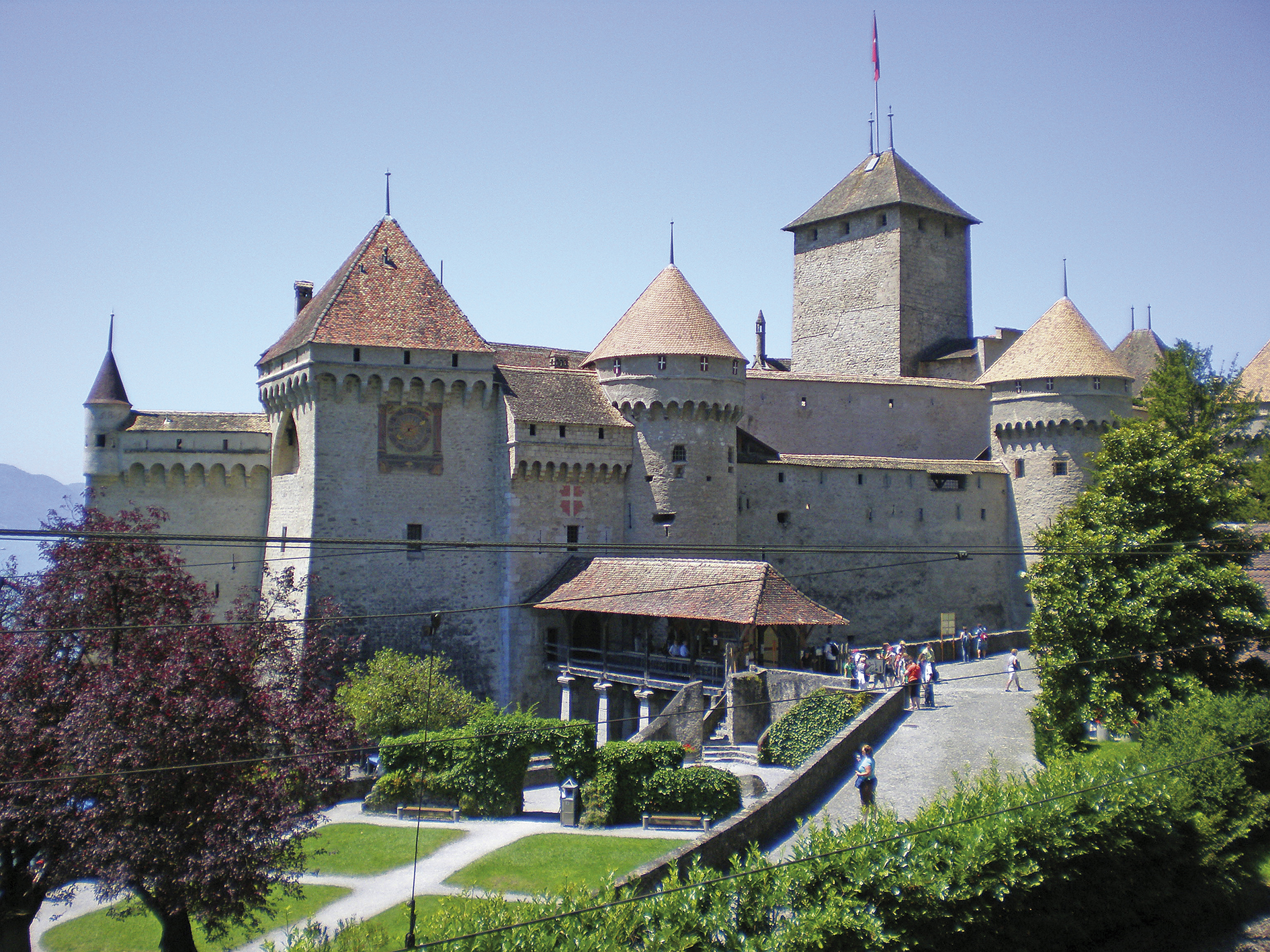 Chillon, vár